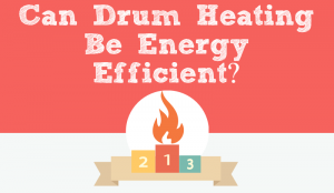 Can Drum Heating Be Energy Efficient